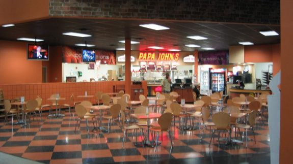 Papa Johns Restaurant (inside Hoops Basketball Academy)