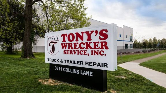 Tony's Wrecker Service